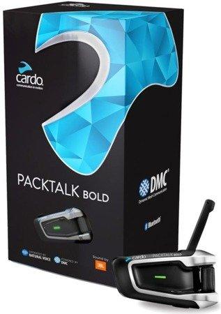Interkom Cardo Packtalk Bold JBL na 1 kask
