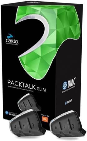 Interkom Cardo Packtalk Slim JBL na 2 kaski