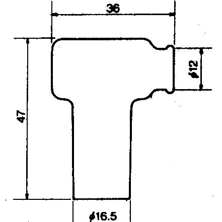 Fajka zapłonowa NGK LB05EMH-R