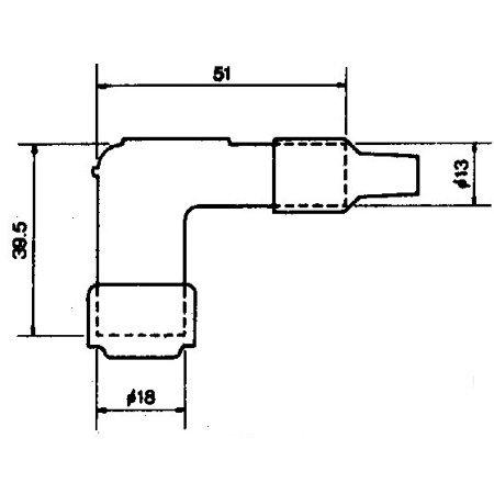 Fajka zapłonowa NGK LB05F