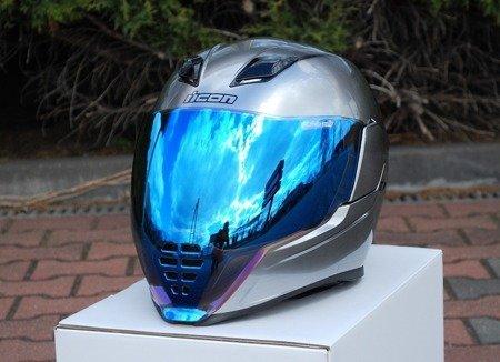 Kask ICON AIRFLITE Quicksilver blue mirror