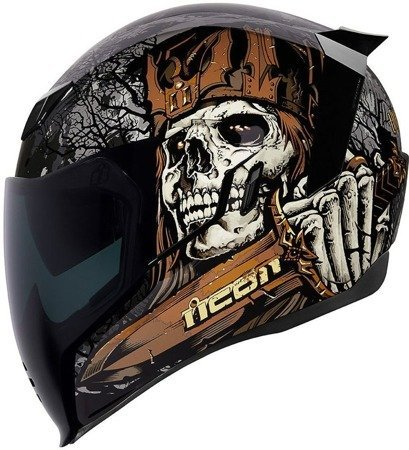 Kask ICON AIRFLITE Uncle Dave dark smoke