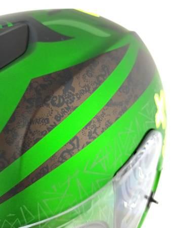 Kask LAZER Rafale Ride Oni green matowy