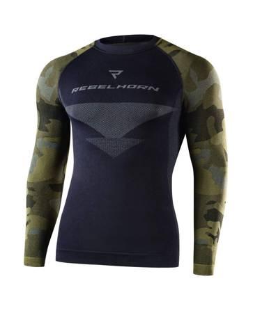 Koszulka termoaktywna REBELHORN Freeze camo