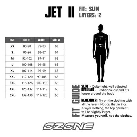 Kurtka OZONE Jet II black