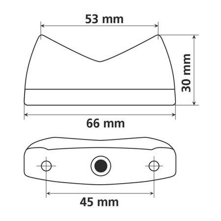 Lampa tylna LAMPA Concept Led  pozycja / stop homologacja