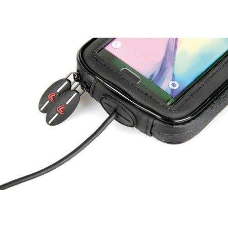 Magnetyczne etui uchwyt na telefon smartphone Lampa 160 x 90 mm