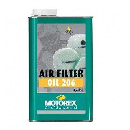 Olej do filtra MOTOREX Air Filter Oil 206 1L