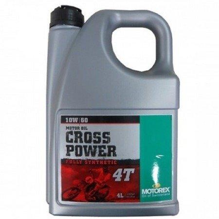 Olej silnikowy MOTOREX Cross Power 10W60 4L