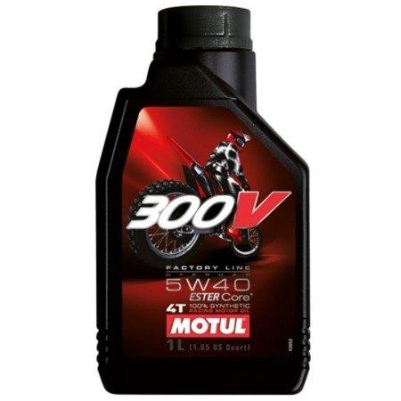 Olej silnikowy MOTUL 300V 5W40 1L