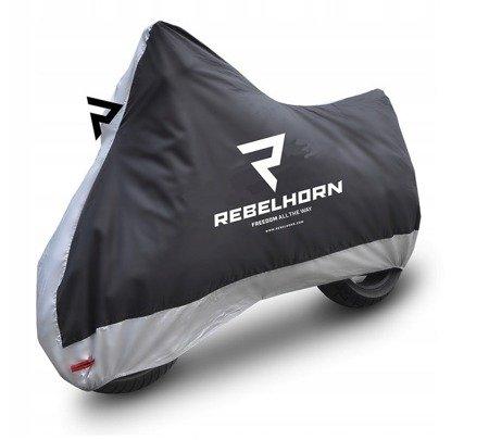 Pokrowiec na motocykl REBELHORN Cover II - wodoodporny rozmiar L