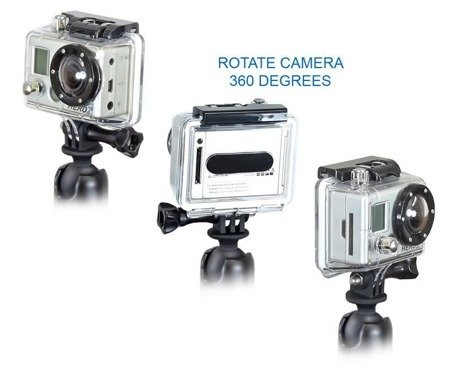 RAM MOUNTS Uchwyt do kamer GoPro SJcam z kulą 1 cal