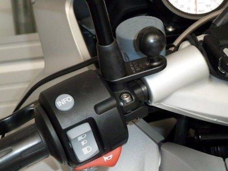 RAM MOUNTS podstawa z 9 mm otworem oraz 1 calową głowicą obrotową