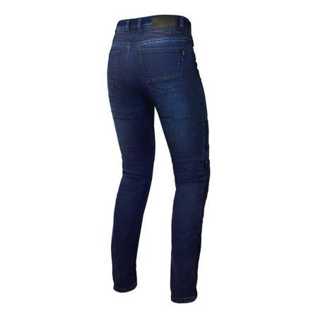 Spodnie damskie jeans OZONE Agness II blue
