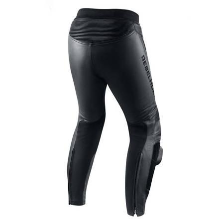 Spodnie skórzane REBELHORN Fighter black