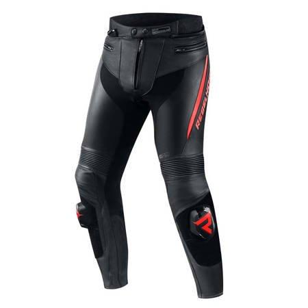 Spodnie skórzane REBELHORN Fighter red