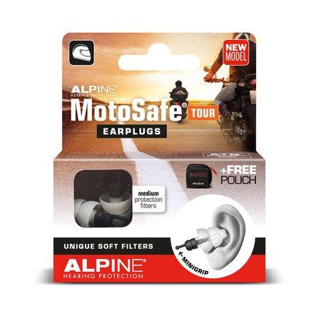 Stopery do uszu ALPINE MotoSafe Tour