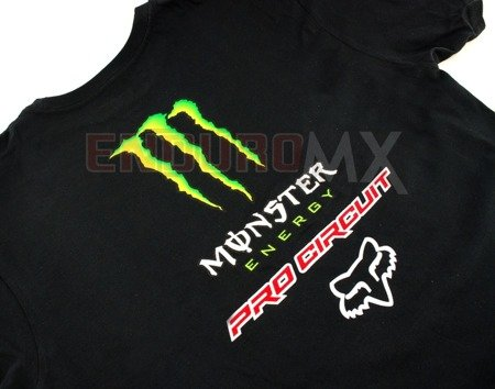T-shirt FOX MONSTER Pro Circuit czarna