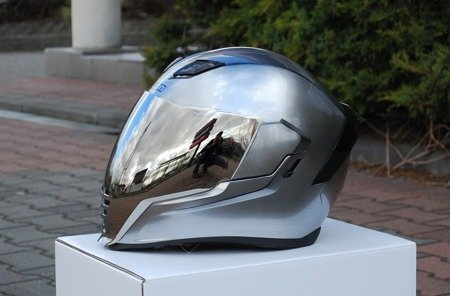 Wizjer do kasku ICON AIRFLITE silver mirror