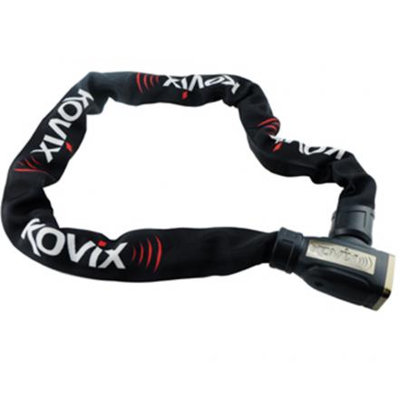 Zabezpieczenie łańcuch KOVIX KCL8-120 cm z alarmem